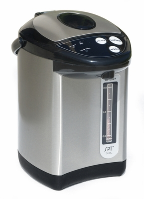 SPT-SP-3017 3L Hot Water Dispenser with Stainless Body by Sunpentown