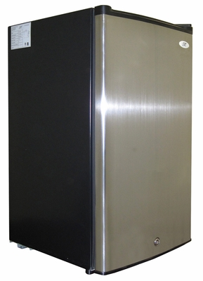 SPT-UF-311S-2.8 cu.ft.-Upright Freezer with Energy Star ? Stainless by Sunpentown