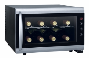 SPT-WC-0802H-8-bottle Thermo-Electric Wine Cooler with Heating by Sunpentown
