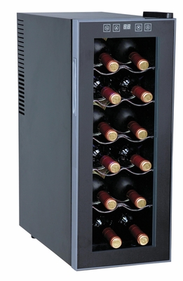 SPT-WC-1271-12-bottle Thermo-Electric Slim Wine Cooler by Sunpentown