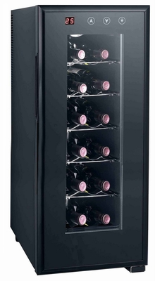 SPT-WC-1272H-12-bottle Thermo-Electric Wine Cooler with Heating by Sunpentown