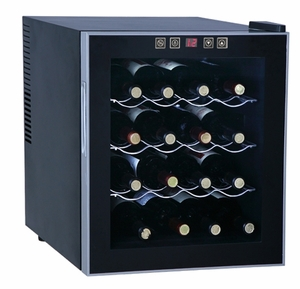 SPT-WC-1682-16-bottle Thermo-Electric Wine Cooler by Sunpentown