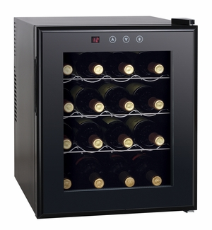 SPT-WC-1685H-16-bottle Thermo-Electric Wine Cooler with Heating by Sunpentown