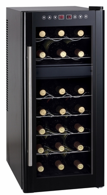 SPT-WC-2192DH-21-bottle Dual-Zone Thermo-Electric Wine Cooler with Heating by Sunpentown