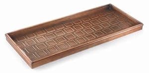 Squares Boot Tray - Venetian Bronze by Good Directions