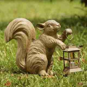 Squirrel Lantern Delights Your Garden And Corridor Spaces Brand SPI-HOME