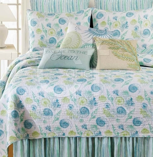 St. Augustine Dust Ruffle Queen 60x80+18 Inches Drop Brand C&F