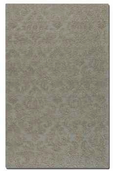 St Petersburg Light Blue 5' Rug with Raised Details Brand Uttermost