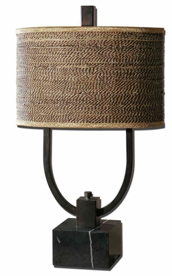 Stabina Metal Table Lamp with Intricate Detailing Brand Uttermost