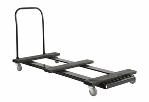 Stack Perfectly with 8' Table Cart by Iceburg Enterprises
