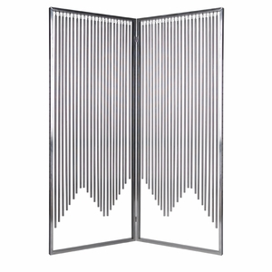 Stainless Steel Ensemble Screen with Intricate Detailing Brand Screen Gem