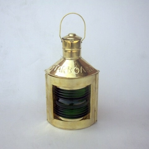 Starboard (Green) Ship Lantern Revives The Marine History Again Brand IOTC