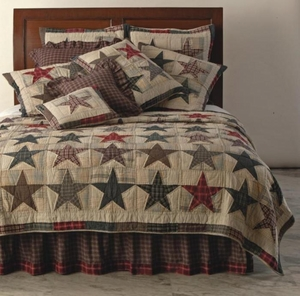 Stars Of America Bed Ruffle Bed Skirt King Size Brand C&F