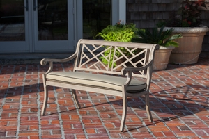 Stavanger Patio Bench, Bewitching And Durable Outdoor Home Furnishing by Well Travel Living