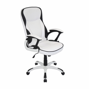 Storm Office Chair White by Lumisource