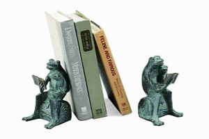 Story Time Frog Bookends Adds New Decor Flavor To Books Space Brand SPI-HOME