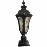Straford Exterior Light Collection Classy Styled 1 Light Exterior Lighting in Oil Weathered Bronze by Yosemite Home Decor