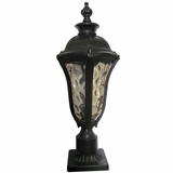 Straford Exterior Light Collection Customary Styled 1 Light Exterior Lighting in Oil Weathered Bronze by Yosemite Home Decor