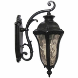 Straford Exterior Light Collection Modish Styled 1 Light Exterior Lighting in Oil Weathered Bronze by Yosemite Home Decor