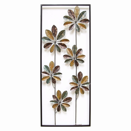 Buy Stratton Home Dcor Climbing Flowers Panel Wall Dcor at