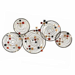 Stratton Home Decor Spiral Abstract Wall Decor