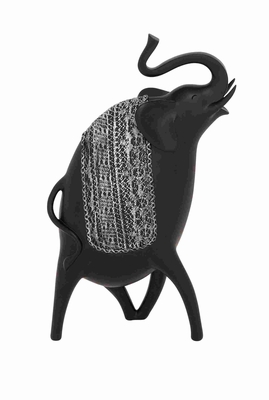 Striking Contemporary Styled Elephant D�cor Brand Benzara