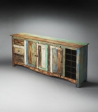 Striking Decatur Recycled Wood Sideboard by Butler Specialty