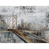 Striking Picture of Across the Bridge by Yosemite Home Decor