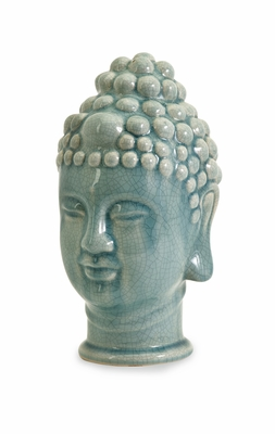 Striking Taibei Ceramic Buddha Head