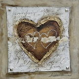 Striking the Healing Heart II Painting by Yosemite Home Decor