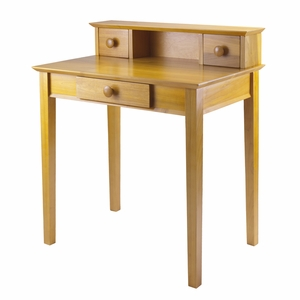 Studio Writing Desk with Hutch by Winsome Woods
