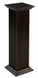 Stunning and Tall Square Fluted Pedestal by Cooper Classics