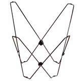 Stunning Black Butterfly Chair Foldable Frame by Alogma