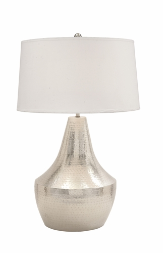 Home decor lamps table lamps stunning metal hammered table lamp 32 quot h