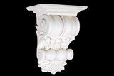 Stunning Off-white Curvy Fiberstone Wall Decor