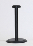 Sturdy Helmet Wooden Stand Three Piece in Black by IOTC