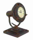 Sturdy Metal Clock with Round Face Design & Cream Background Brand Woodland