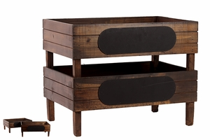 Stylish and Elegant Wooden Antique Storage Unit by Urban Trends Collection