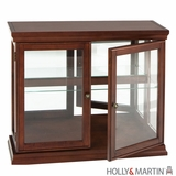 Stylish Arabella Double Door Curio Cabinet by Southern Enterprises