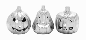 Stylish Ceramic Abstract Halloween Themed Set (Set of 3) Brand Woodland