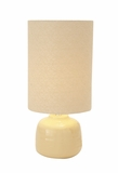 Stylish Contemporary Styled Ceramic Table Lamp by Woodland Import