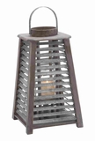 Stylish Metal Lantern with both Indoor & Outdoor Compatibility Brand Woodland
