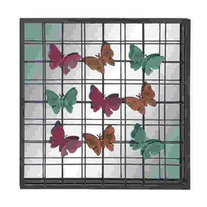 Stylish Metal Wall Decor Suiting Modern and Conventional Decor Brand Woodland