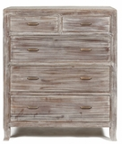 Stylish Piece of Wooden Aria Five Drawer Chest