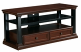Stylish Piece of Wooden Cappelle TV Console by Office Star