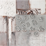 Surprisingly Beautiful Rosettes I Painting by Yosemite Home Decor