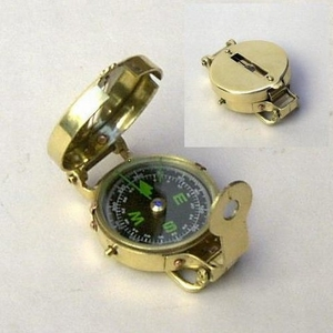 Sweden Military Compass, Constructively Awesome Antiqued Creation Brand IOTC