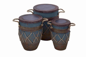 Swedish Country Container Pot Set Brand Benzara