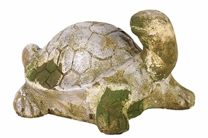 Sweet Green Moss Finish Turtle Stoneware