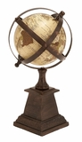 Table Globe Decor An Excellent Educational Aid Brand Woodland